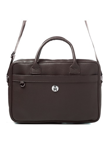 TH Bags TH Bags 2THCM2020009 Laptop Evrak Çantası Kahve